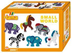 Hama beads Pony ed elefante