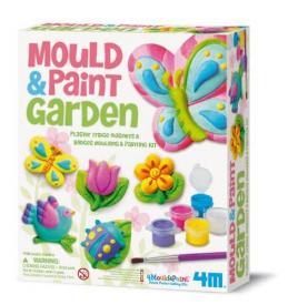 Modella e colora - Giardino