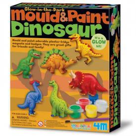 Modella e colora dinosauri