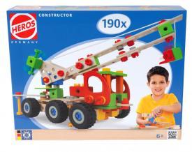 Meccano in legno Heros 190 pezzi