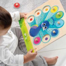 Puzzle pavone Goula - Impara i colori 453060