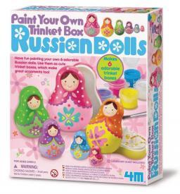 Crea bambole russe Matrioska