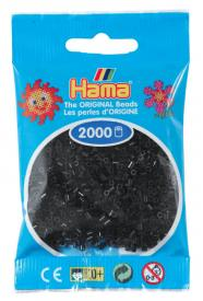 Hama beads MINI 2000 pezzi - nero n.18