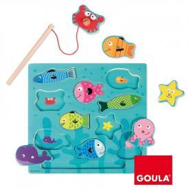 Puzzle pesca magnetico