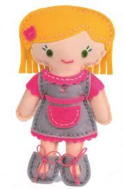 Cuci la tua bambola di feltro