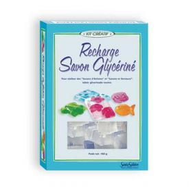 Ricarica glicerina per saponi 450 g