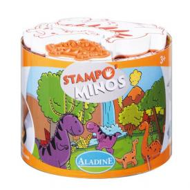 Stampominos dinosauri