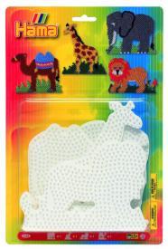Base per perline (leone, giraffa, elefante, cammello)