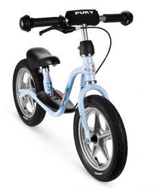 Bicicletta senza pedali Puky azzurro L con freno LR 1 BR