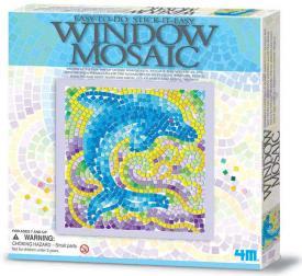 Mosaico finestra - Delfino