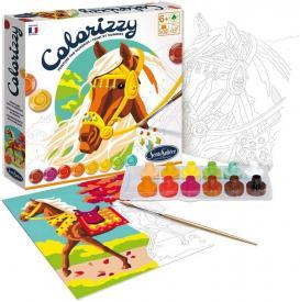 Colorizzy - Colorare con i numeri - Cavalli