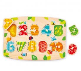 E1404_confezione puzzle in legno numeri hape toys