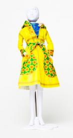 Fanny Sun Flower Dress your Doll