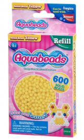 Ricarica Aquabeads - 600 Perline circolari Gialle
