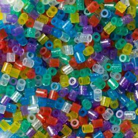 Hama Beads Midi 3000 pezzi - misto glitter