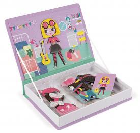 Libro magnetico Costumi bambina