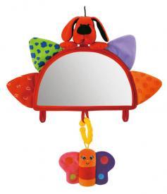Specchietto retrovisore con sonagli