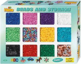 kit pyssla hama beads 9600 perline Midi 2095