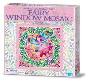 mosaico finestra fatina