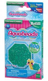 Ricarica Aquabeads - 600 Perline sfaccettate Verdi