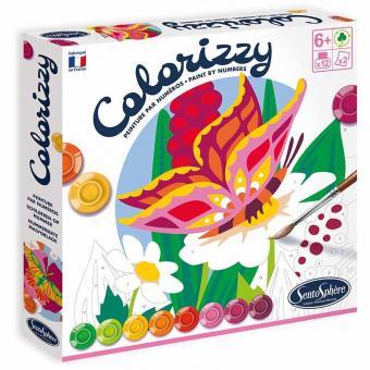 Colorizzy - Dipingere con i numeri - Farfalle