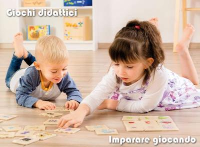Giochi didattici per bambini…  imparare giocando!
