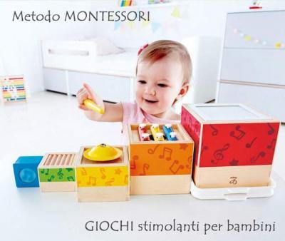 I giochi Montessori per bambini: scopri quello adatto ad ogni età